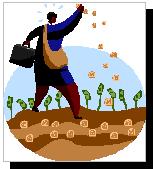 bizperson planting