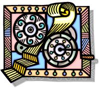 wheels turn paper