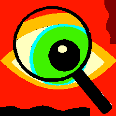 magnify glass eye